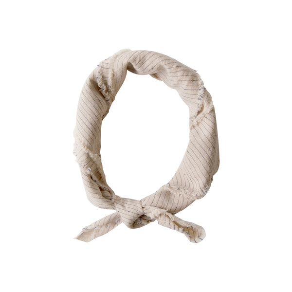 Women's Neckerchief-flax stripe