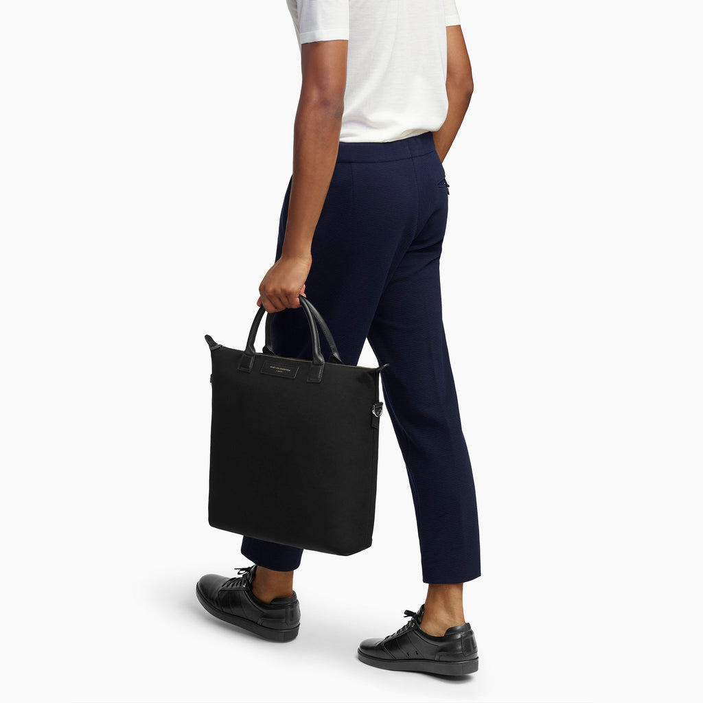 Ohare Canvas Tote - Black<br> by Want Les Essentiels