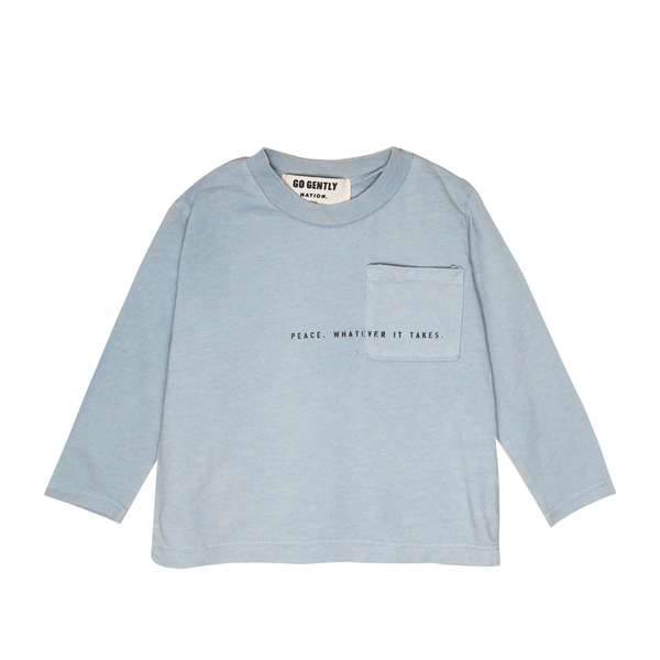 Peace Pocket Tee