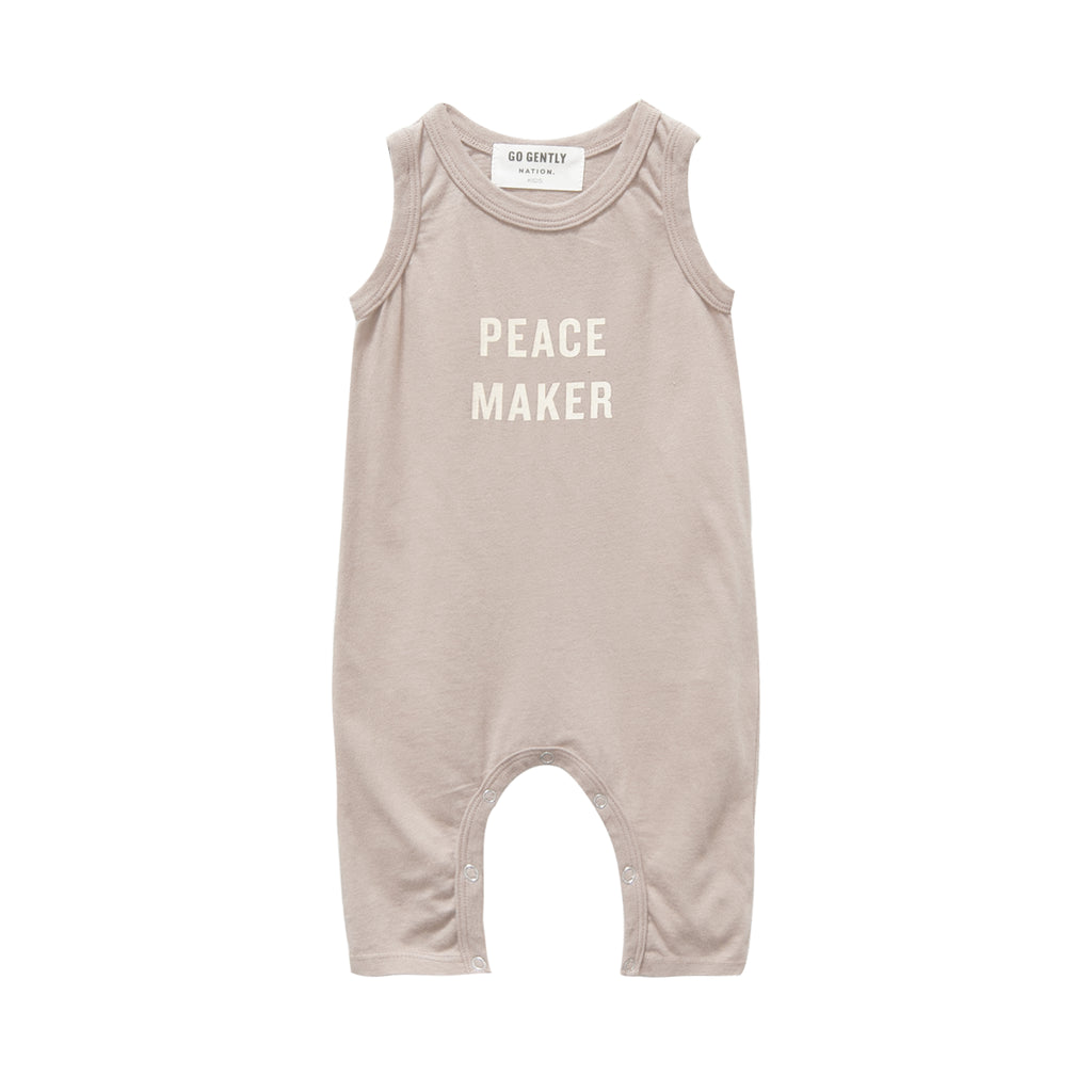 Peace Maker Long Romper