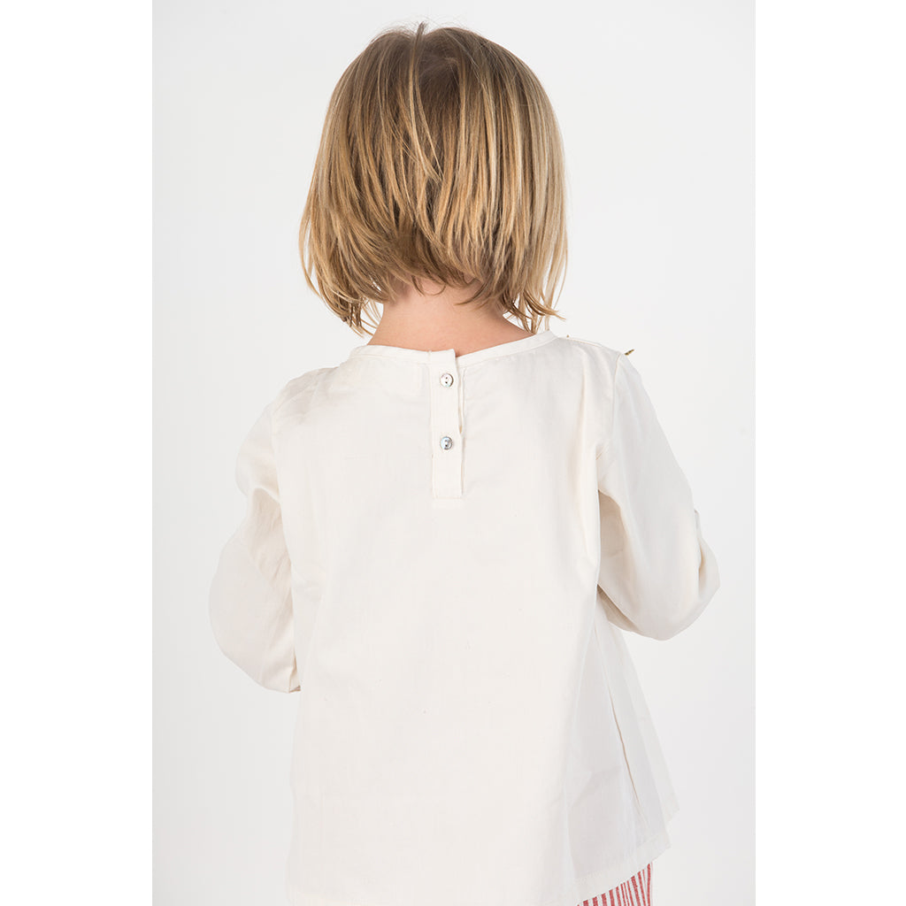 Holiday Pleated Blouse