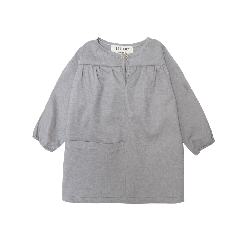 Pocket Smock Dress