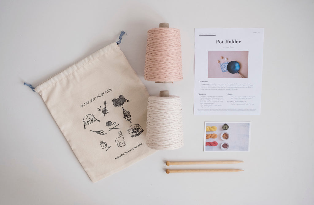 Pot Holder - Knit Kit