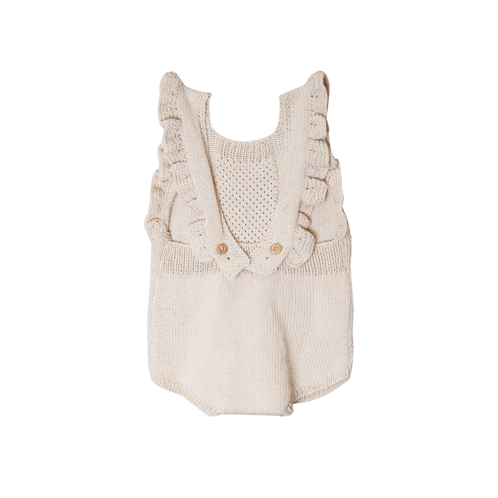 Heirloom Handmade Organic Romper - Paris