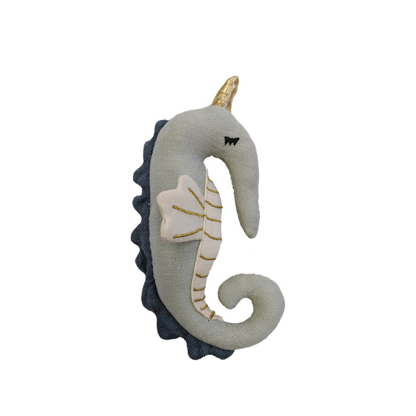 Rattle Soft - Seahorse <br> Fabelab