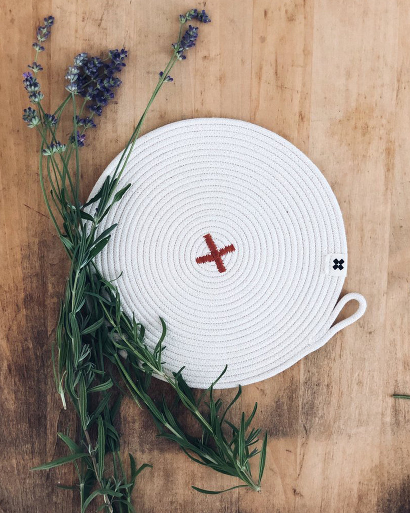 Rope X Trivet Rust<br>Ten&Co.