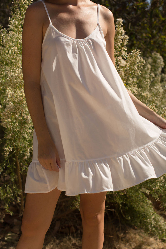 Ruffle Nightgown
