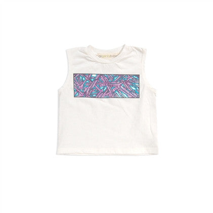 graffiti screen tee