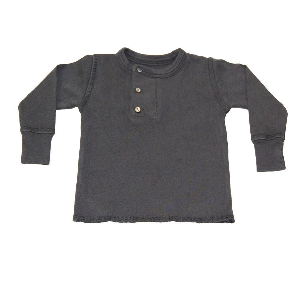 wide placket henley