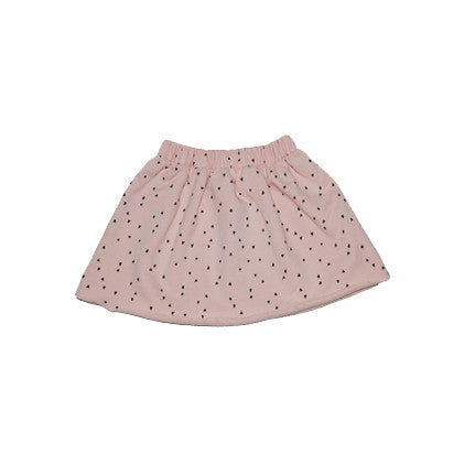 printed fleece skirt