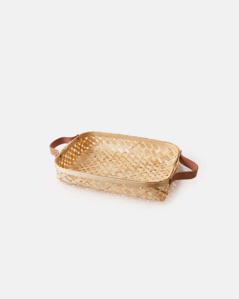 Bamboo Basket - Small - Natural