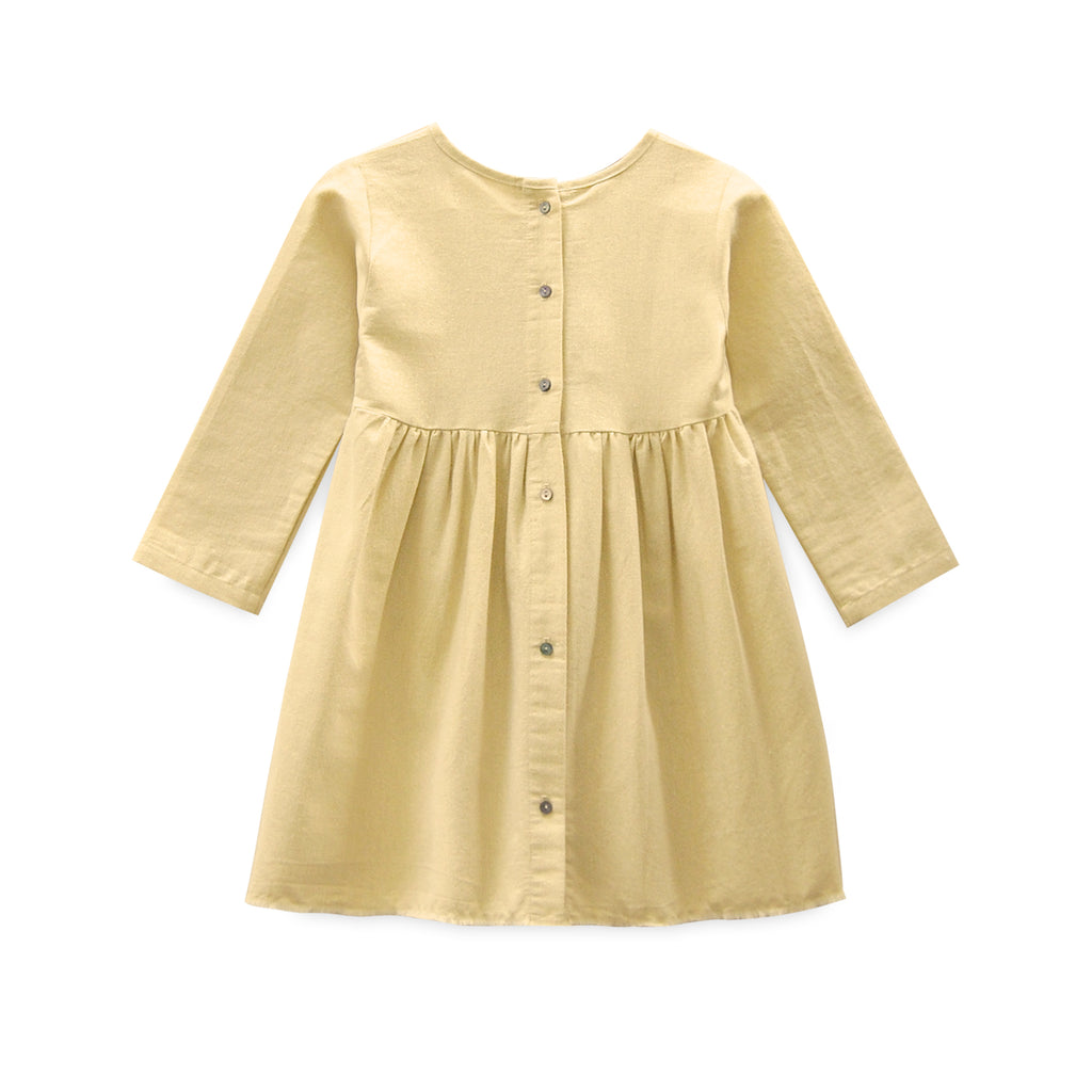 Gold Shimmer Prairie Dress