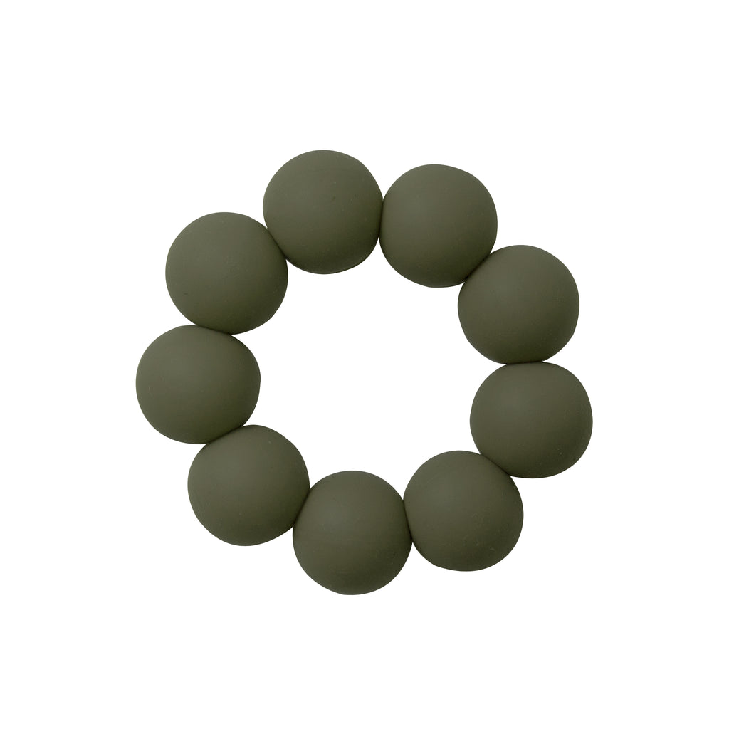 Freezable silicone teething toy- Olive <br> Dove and Dovelet