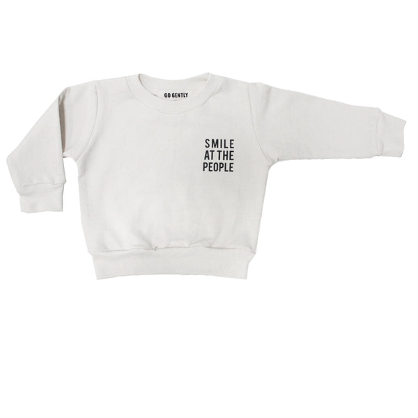 Smile At The People Crewneck