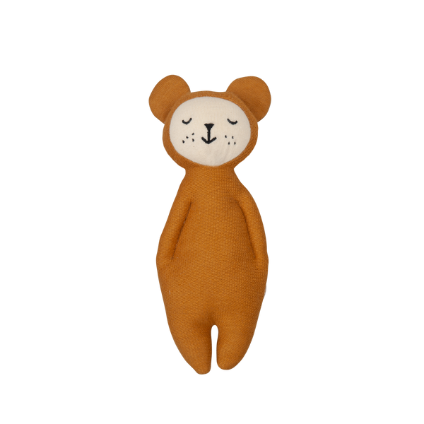 Soft Rattle- Bear <br> Fabelab