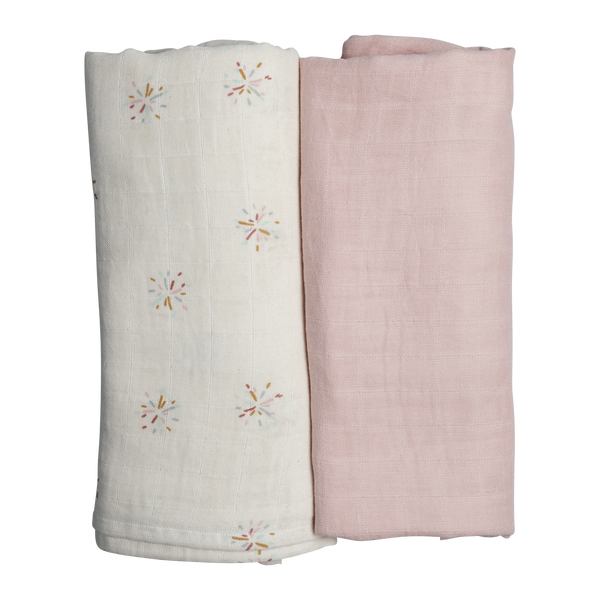 Swaddle - 2 pack - Rainbow Sky<br> Fabelab