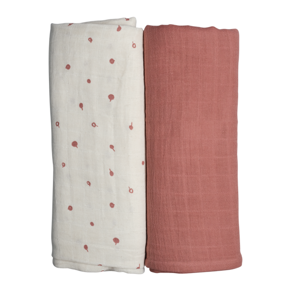 SWADDLE - 2 PACK - WILD BERRY <br> Fabelab