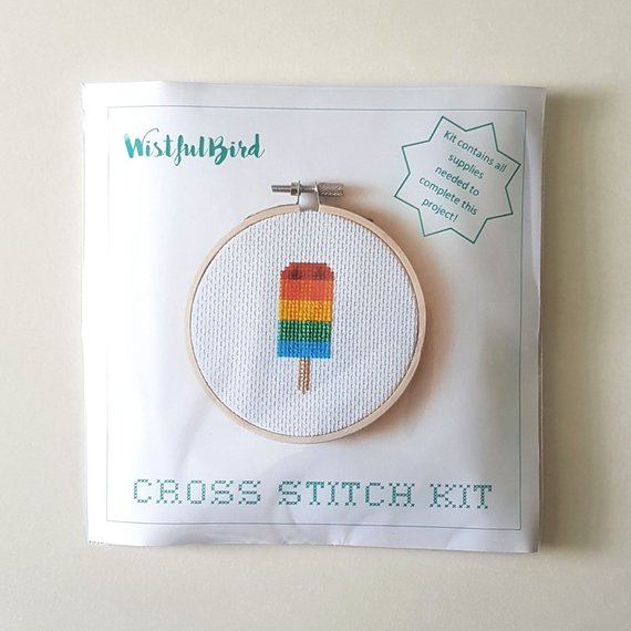 Cross Stitch Kit - Rainbow