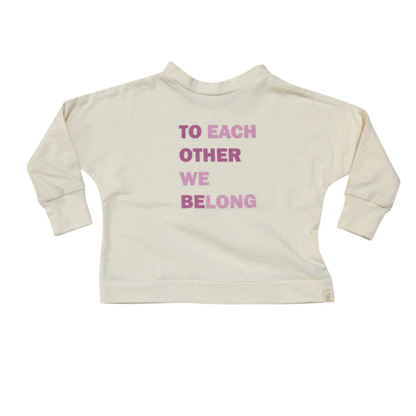 """we belong"" tee"