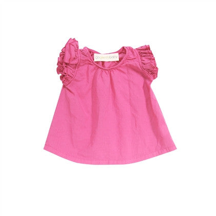 hippie ruffle top