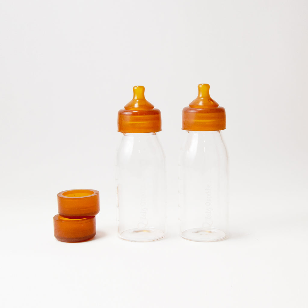 Glass Baby Bottle Twin gift pack - Abel Series 10 oz. <br>Baby Quoddle