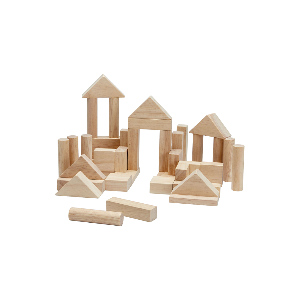 40 Unit Blocks - Natural<br> PlanToys