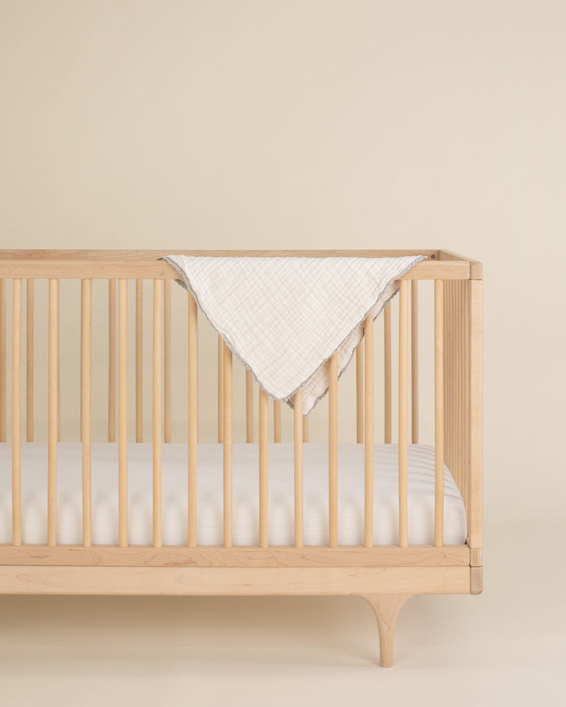 Lace baby blanket / mini size - clay<br>Willaby