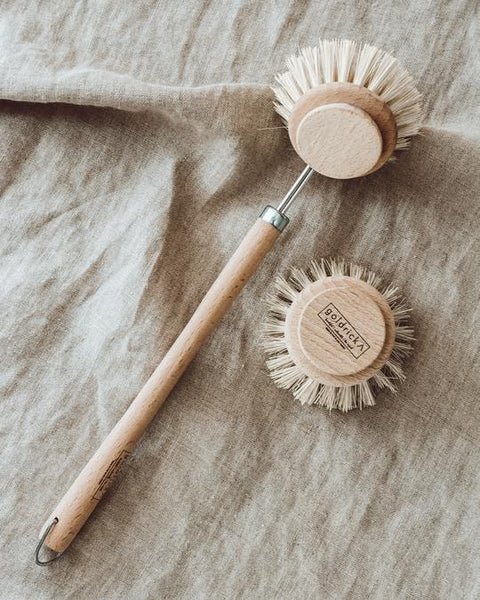 Wooden Dish Brush | Plant-Based Bristles