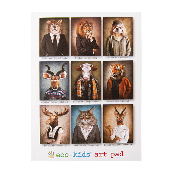 Eco art pad- Animal Cover <br> Eco Kids
