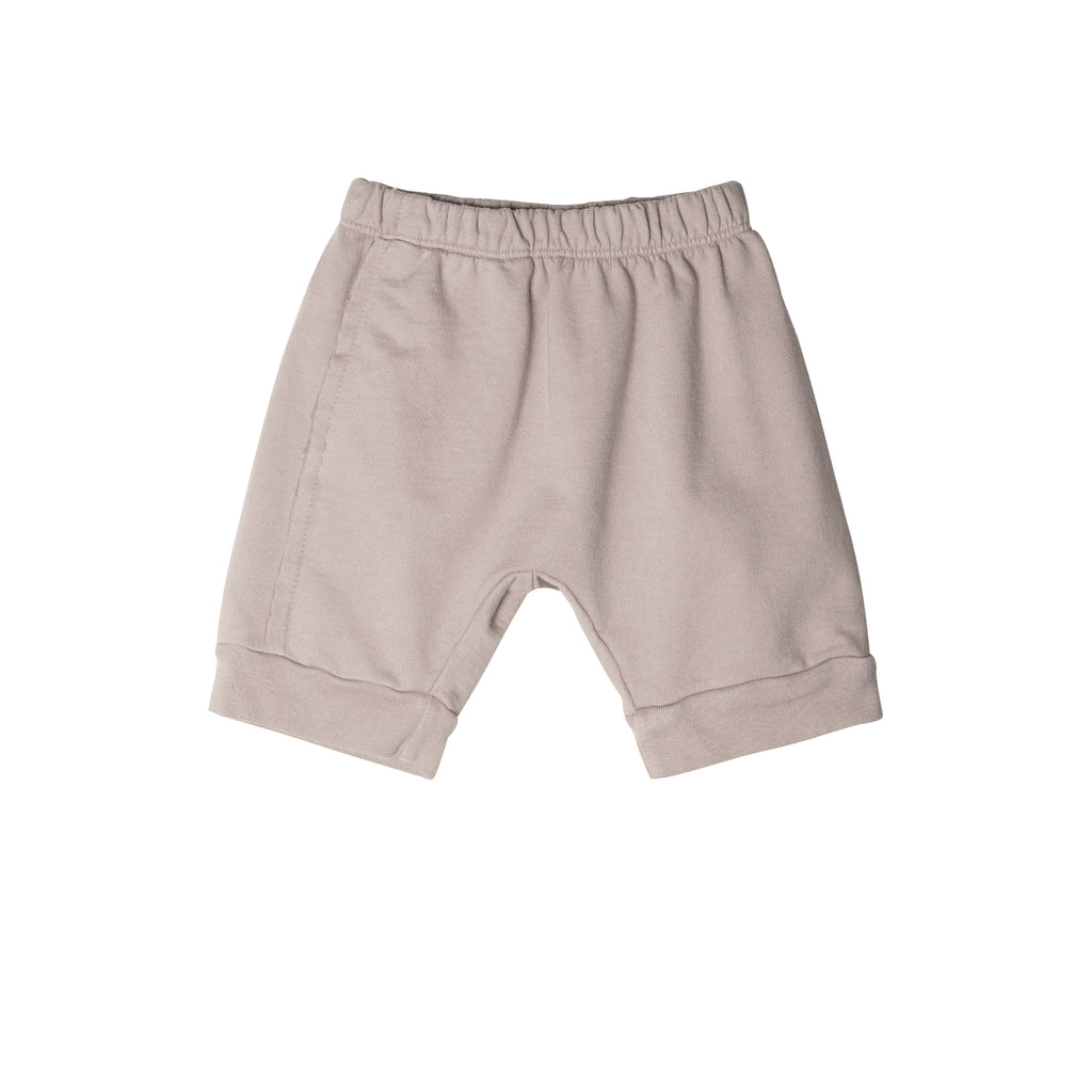 Raw Seam Track Short with cuff
