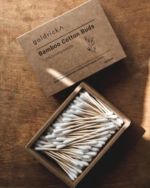 Bamboo Cotton Swabs- 100% Biodegradable