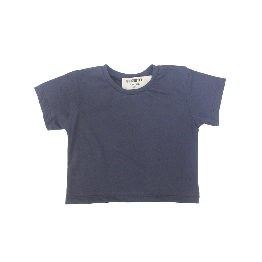 Navy Basic Blue Tee