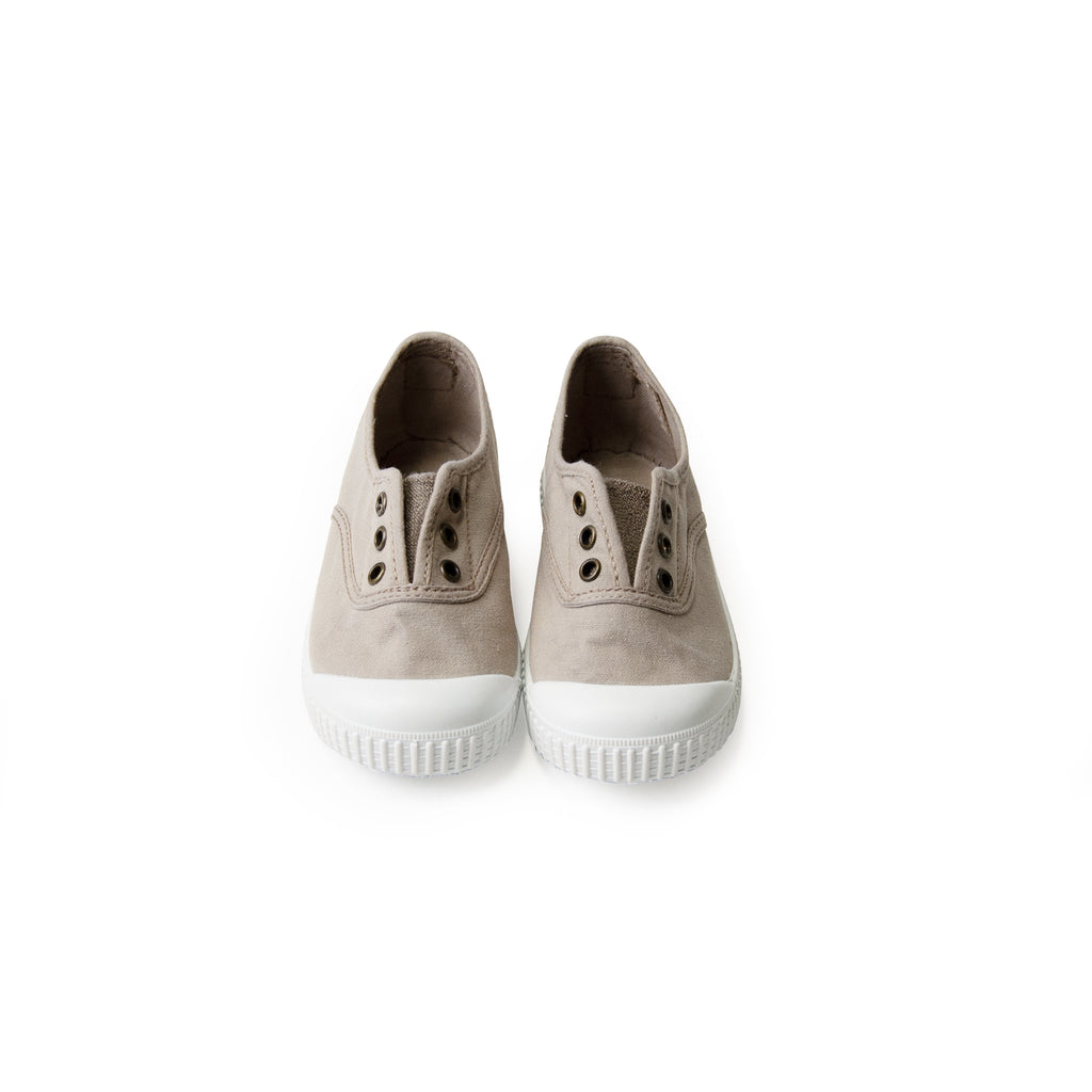 Organic Canvas Sneakers beige Victoria