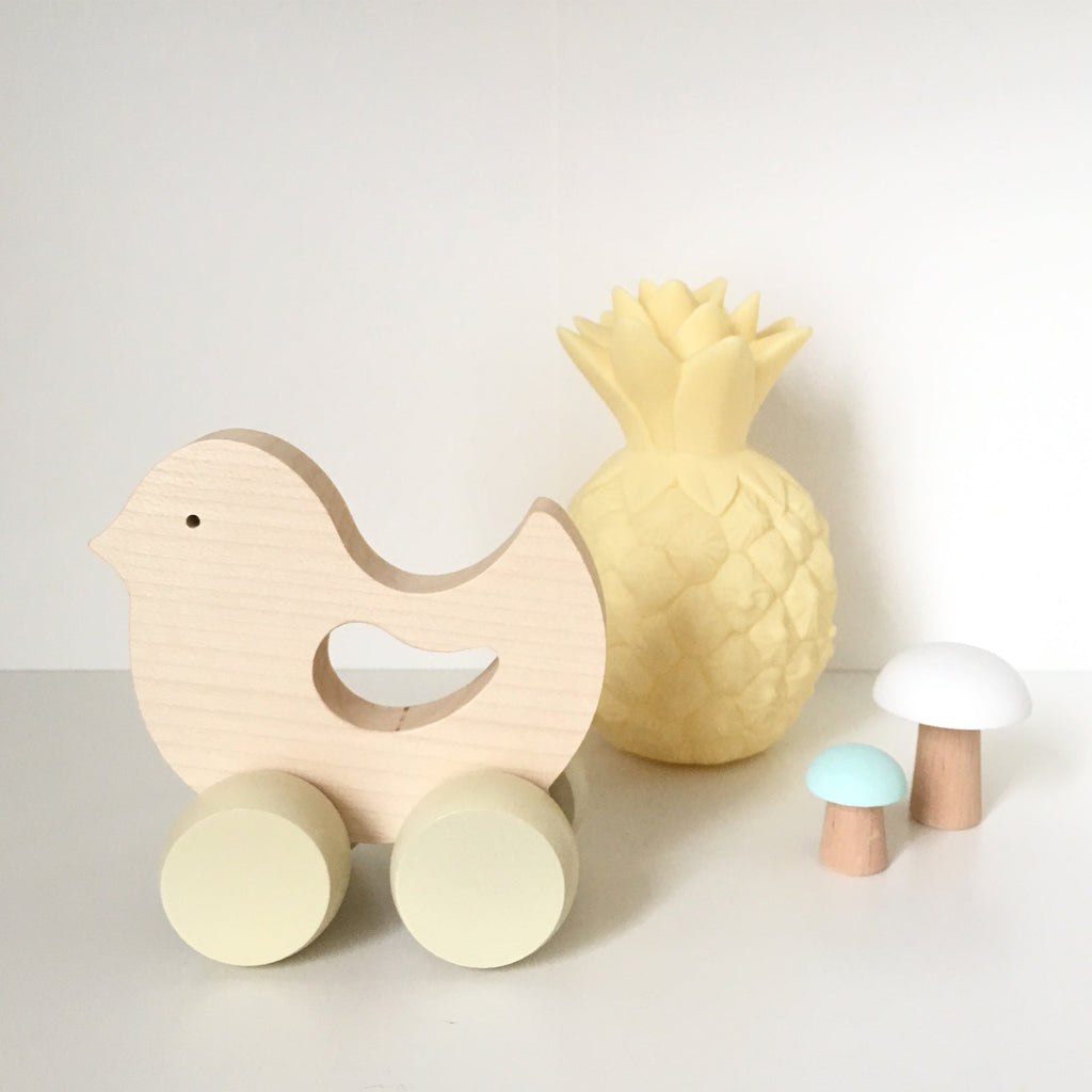 Wooden Bird - Birdie <br>Briki Vroom Vroom
