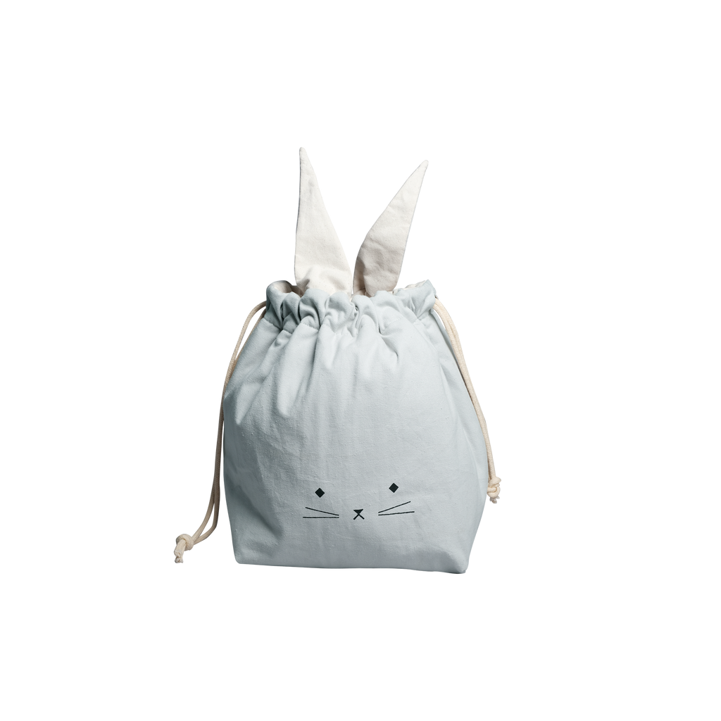 Storage Bag - Small - Cat - Foggy Blue<br> Fabelab
