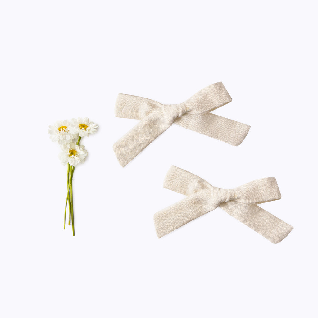 Mini Bow Set - natural & natural