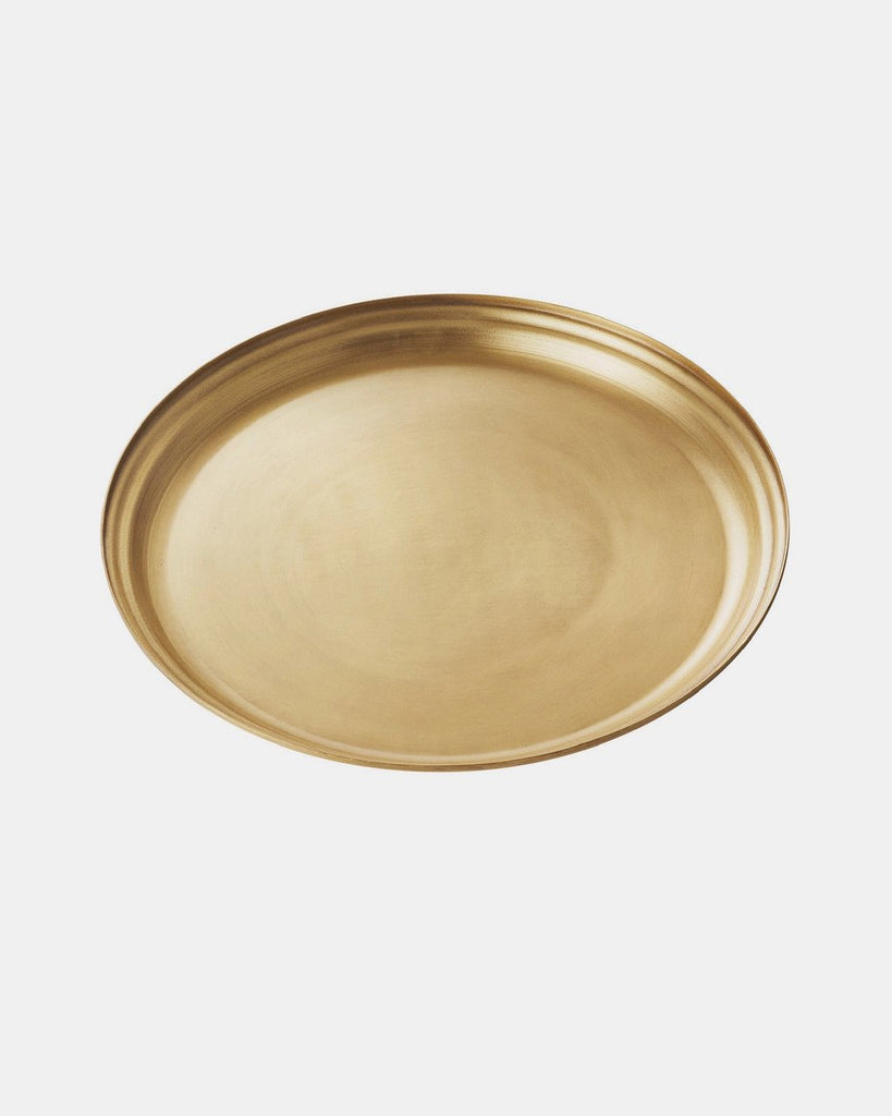 Brass Round Tray - Large <br>Fog Linen