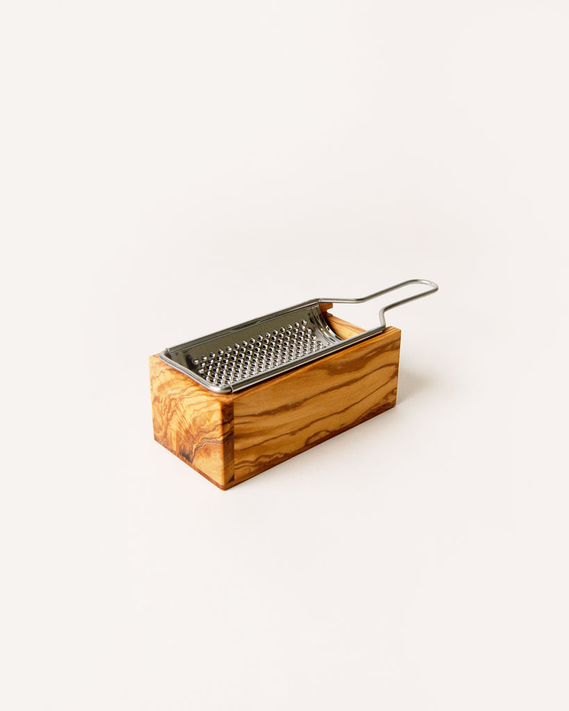 Cheese Grater w/ Wooden Box