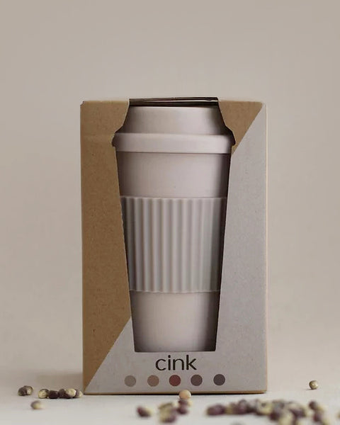 Bamboo Takeaway Coffee Mug - Fog <br>Cink