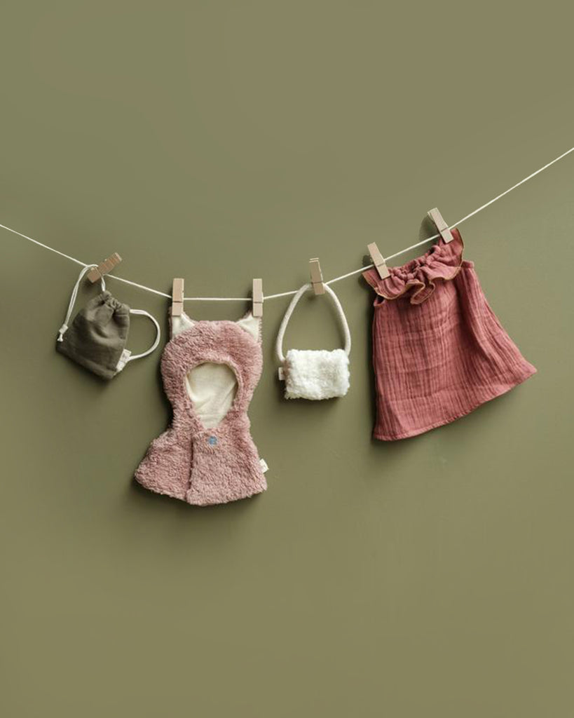 Doll Clothes Set-Fox Cape <br>Fabelab