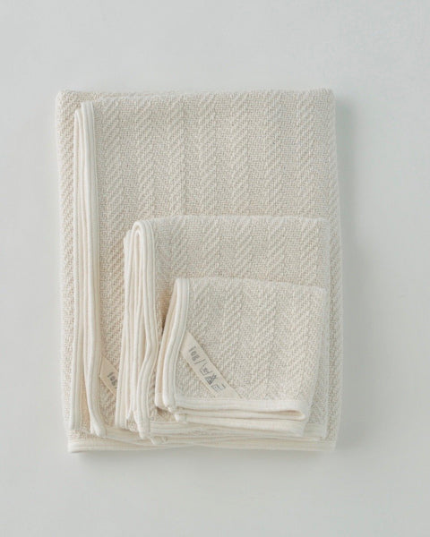 Herringbone Cotton Towel-hand towel<br>Fog Linen