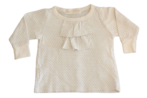 ruffle dot top