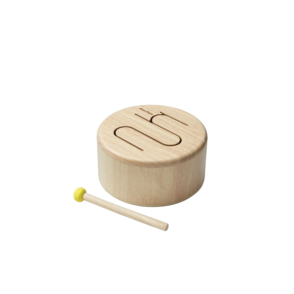 Solid Drum-Natural <br> Plan Toys
