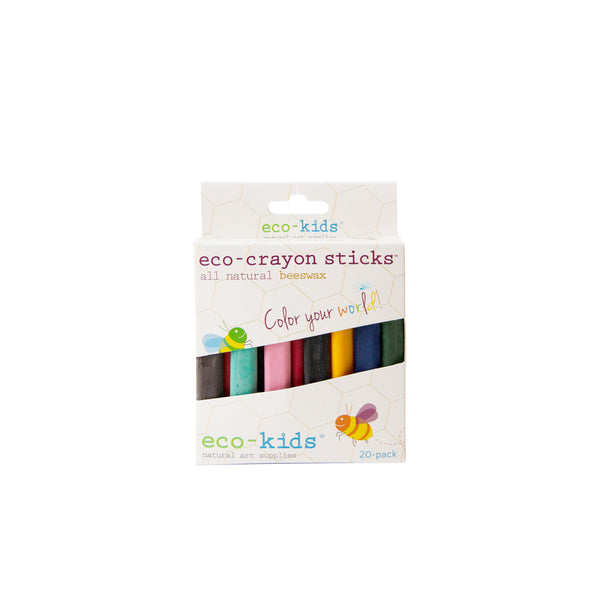 Eco Crayon Sticks 20 Pack<br> Eco Kids