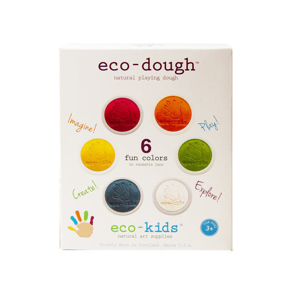 Eco Dough 6 Pack<br> Eco Kids
