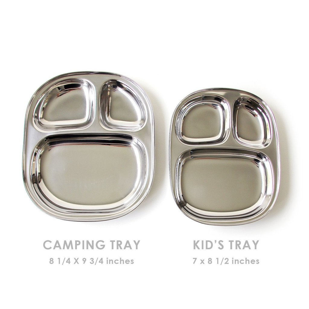 Stainless Steel Camping/ Beach Tray