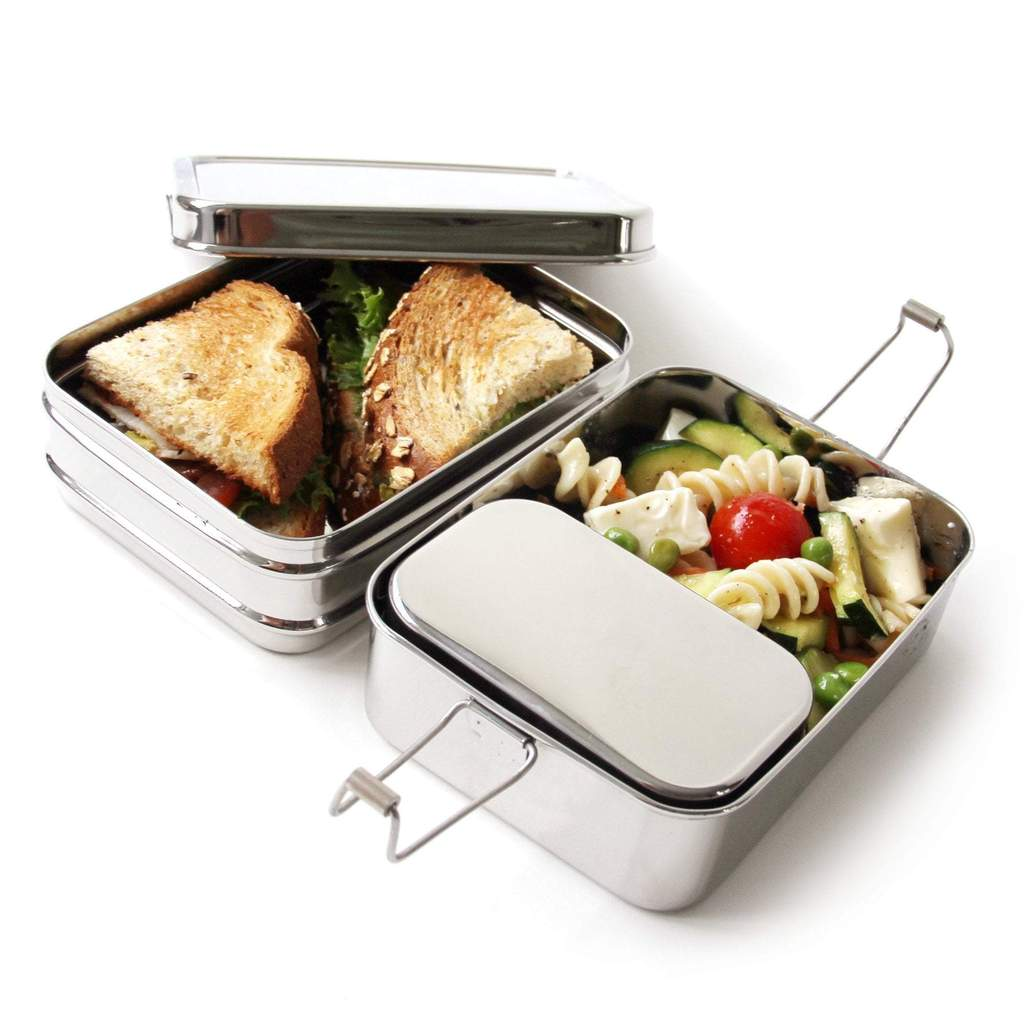 Three-in-one Classic  - Stainless Steel Bento Box