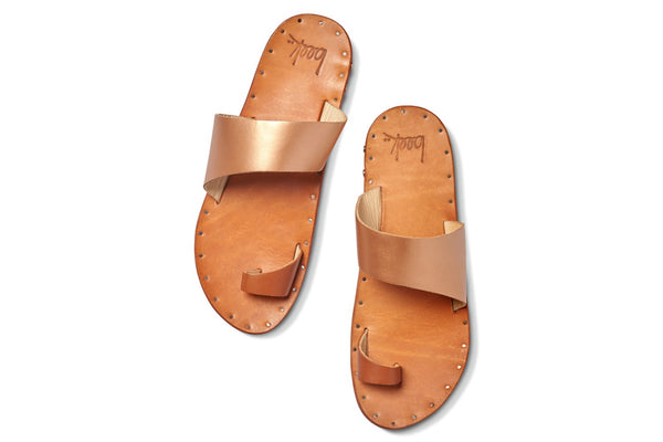 Finch Sandal by BEEK - rosegold