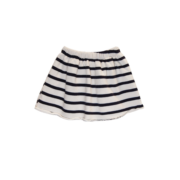 Stripe Fleece skirt