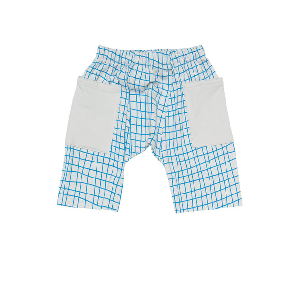printed french terry short